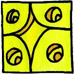 LAMAT Gelbe Sternwelle
