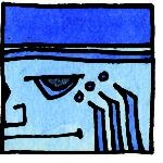 MEN Blaue Adlerwelle
