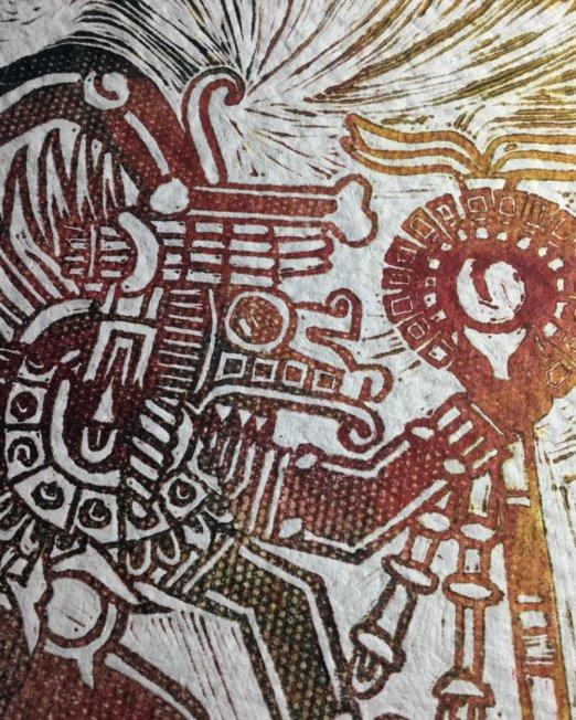 Detail «El Shaman»